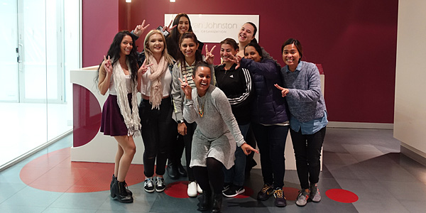 childcare course students