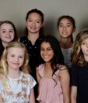 Children's Modelling & Confidence Course participants (December 2019)