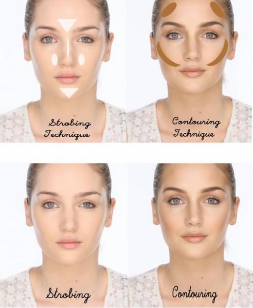 modeling makeup