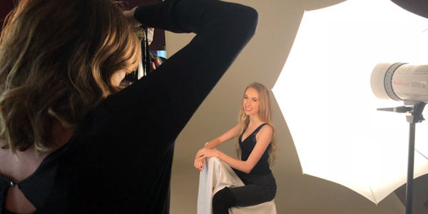 Our modelling classes include extensive posing lessons and a real-life photoshoot ensuring confidence in front of the camera