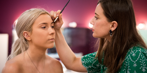 Finishing and deportment classes include practical make-up lessons